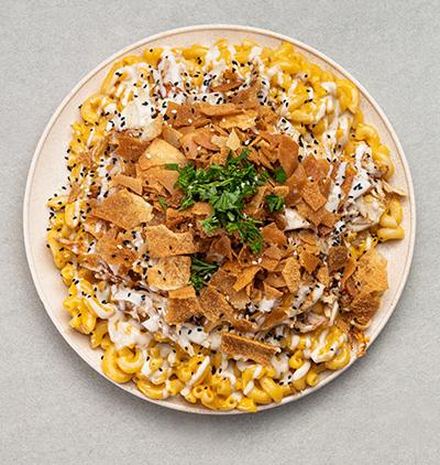 Macaroni au fromage et au poulet