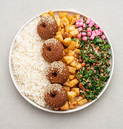 Plat Falafel
